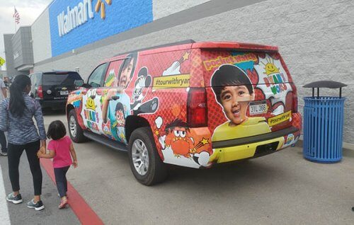 "YouTuber Ryan Toys Review launches toy collaboration with ORB™. This ""Tour with Ryan"" car will stop at Walmarts for roadshows"